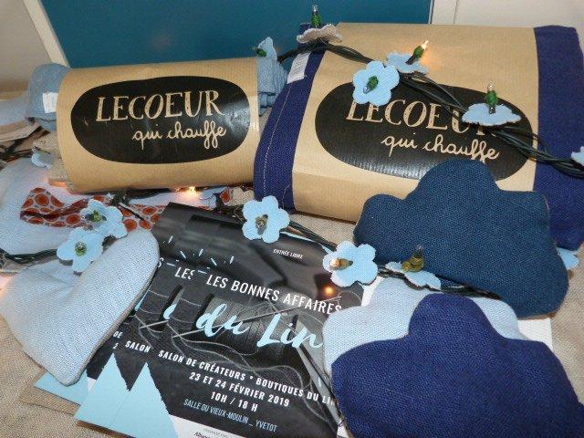 Lecoeur qui chauffe - Salon Les bonnes affaires du lin 23 et 24 fevrier Yvetôt en Sene Maritime