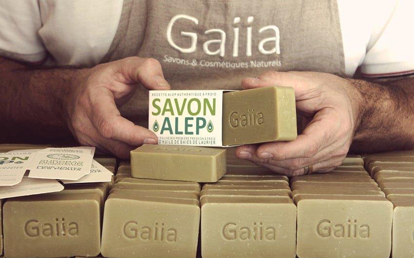 Savonnerie Gaiia - NOTRE SAVON D'ALEP À FROID !