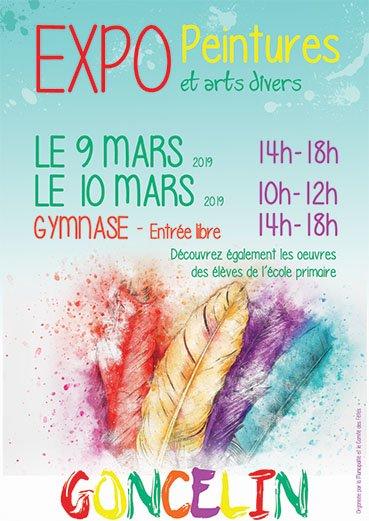 Michèle Blanchet-Durand - GONCELIN Isère Expo de peinture et Arts