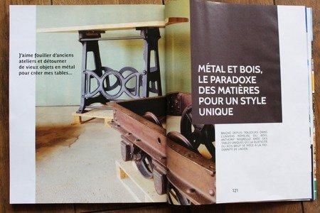 Métal et Bois - Magazine: Art de vivre dans le Jura