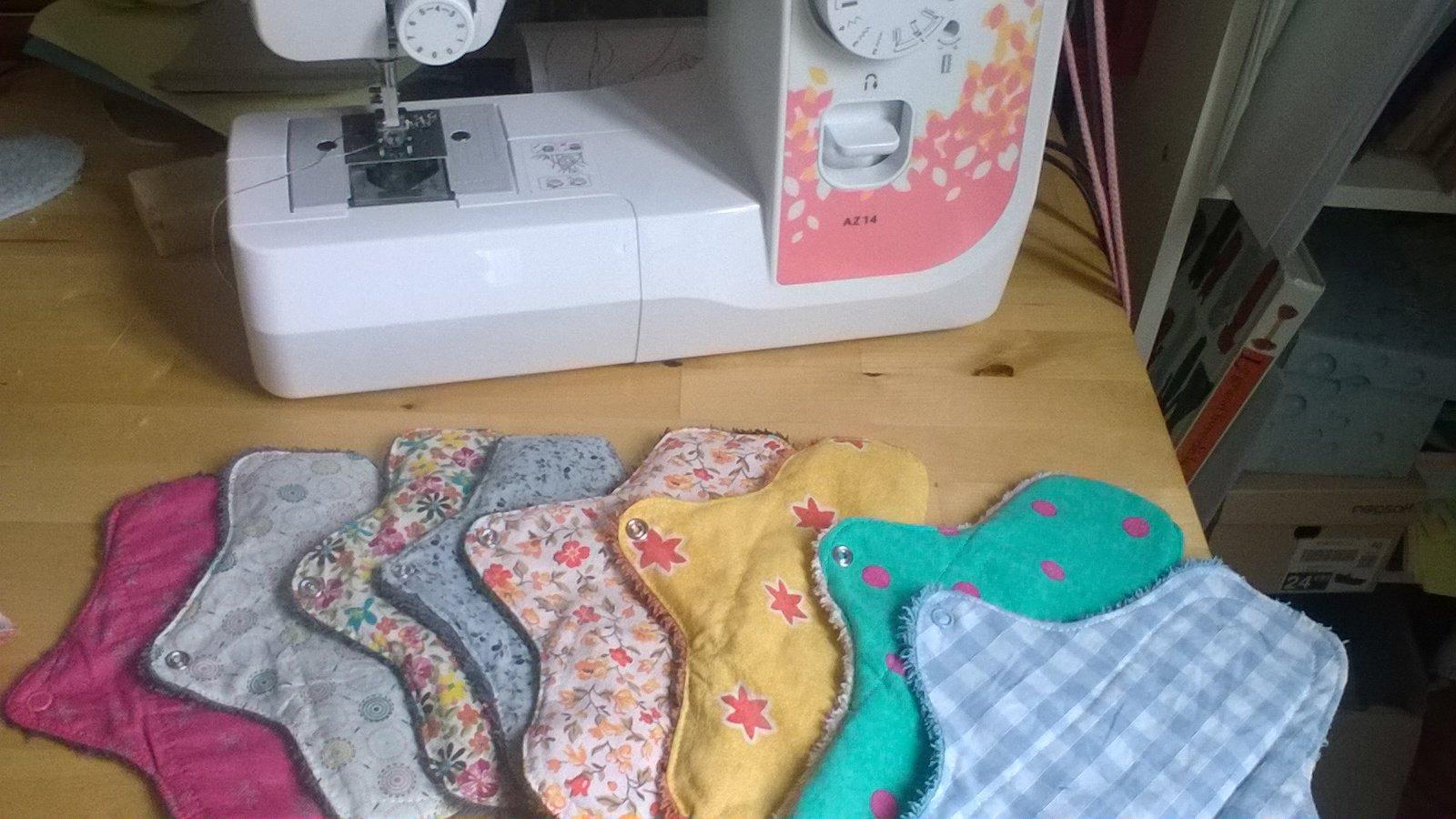 Suivez le fil - Atelier fabrication de serviettes hygièniques lavables spécial ados