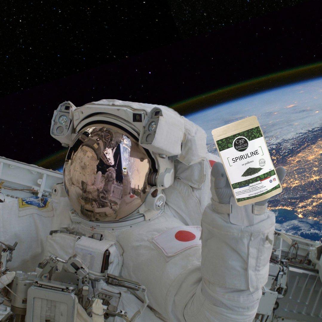 Cap Spiruline - La spiruline, une candidate idéale pour voyager dans l'espace !